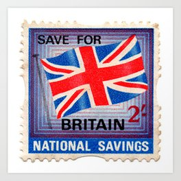 British War Savings Stamps Art Print