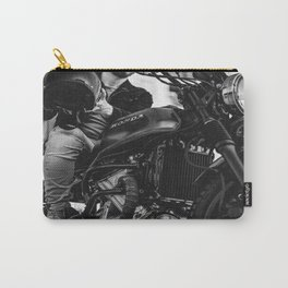 Motorcycle Fashion Modern Art Engine Motor Carry-All Pouch