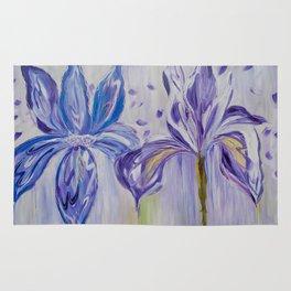 Diane L - Orchidés Rug