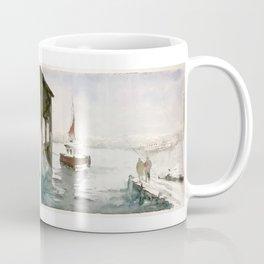 Fishing in Istanbul Coffee Mug