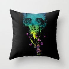 THE FORBIDDEN BUTTERFLIES Throw Pillow