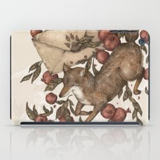 Coyote Love Letters iPad Case