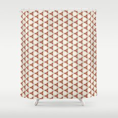 Three red pattern Shower Curtain