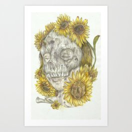 Sun Decay Art Print