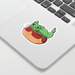 Cactus Cat Sticker