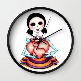 Dia de los Muertos: Stitch by Stitch Wall Clock