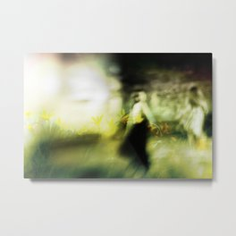 Dance in meadow Metal Print