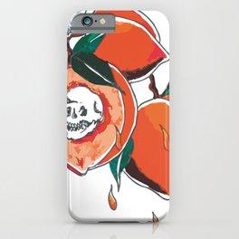 peach pit iPhone Case