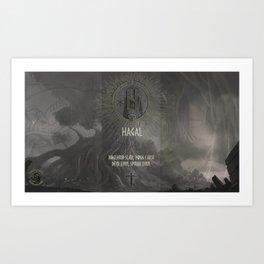 Hagal Art Print