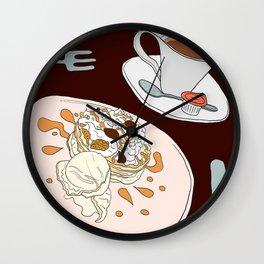 Pancake Treat Wall Clock