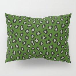 cheetah cheetah kelly green Pillow Sham