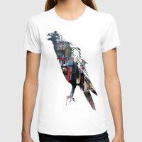 raven T-shirts featuring Raven by Jeffrey J. Irwin