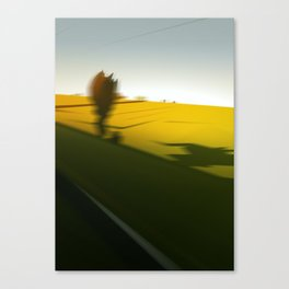 Trainblur Canvas Print