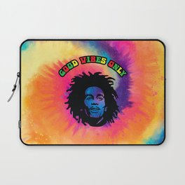 Good Vibes only, Marley vibes. Laptop Sleeve