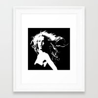 britney Framed Art Prints featuring Pretty Britney by Dora Birgis