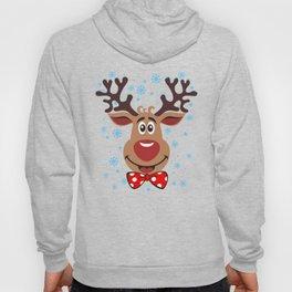 Сheerful deer. Merry Christmas! Hoody