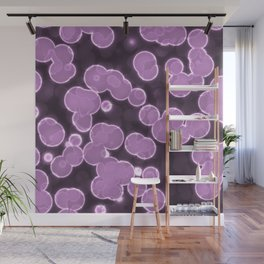 Purple Ball Wall Mural