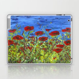 Poppy Field Laptop & iPad Skin