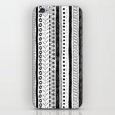 Black and White Pattern 2 iPhone & iPod Skin