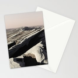 Jagged Strata Stationery Cards