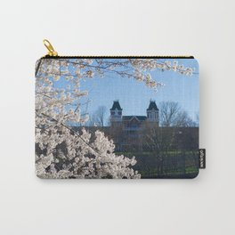 The Kennedy Art Museum in Spring Carry-All Pouch
