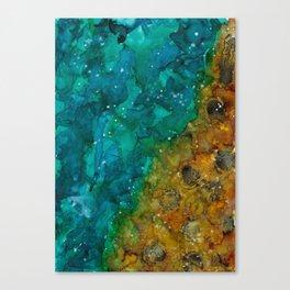 ocean surrenity Canvas Print