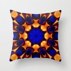 Royal Honey Throw Pillow
