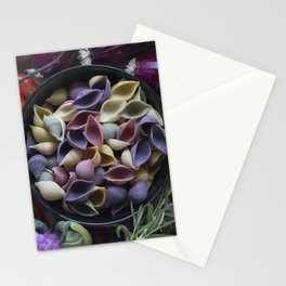 Nightshaded pasta ingredients Stationery Cards