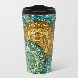 Royal disc pattern Travel Mug