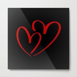 Hearts Against Hate 281 Metal Print
