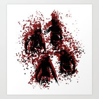 assassins creed Art Prints featuring Assassins by LitYousei