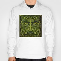 maori Hoodies featuring Maori style 01 by Alexis Bacci Leveille