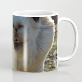Smiling Llama Coffee Mug