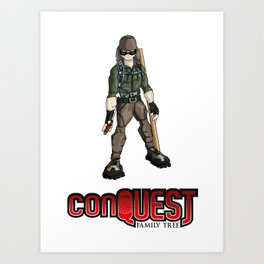 Bolo from 'conQUEST' Art Print