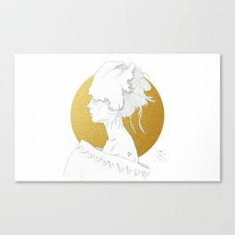MELLOW GOLD (Steal My Body Home) Canvas Print