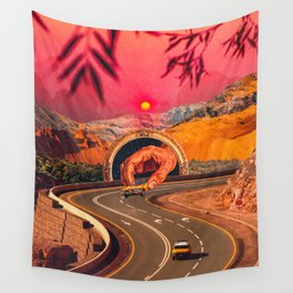 A Second Racer Appears Wall Tapestry