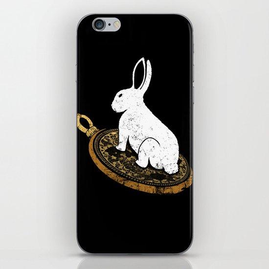 Follow The White Rabbit iPhone & iPod Skin