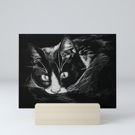 Hank the Cat Mini Art Print