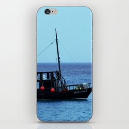 The Boat Off Cozumel iPhone Skin