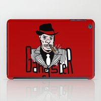 gangster iPad Cases featuring Gangster by Logan_J