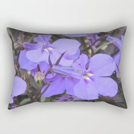 Crystal Lobelia Rectangular Pillow