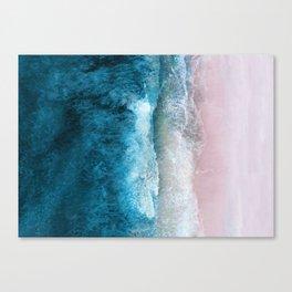 Blue Sea III Canvas Print