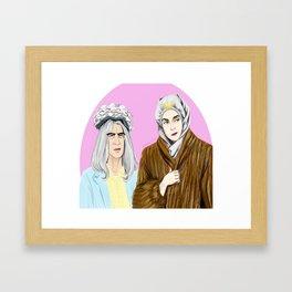 Sandy Passage  Framed Art Print