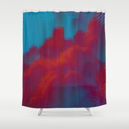 Digital Clouds MMXVIII Shower Curtain