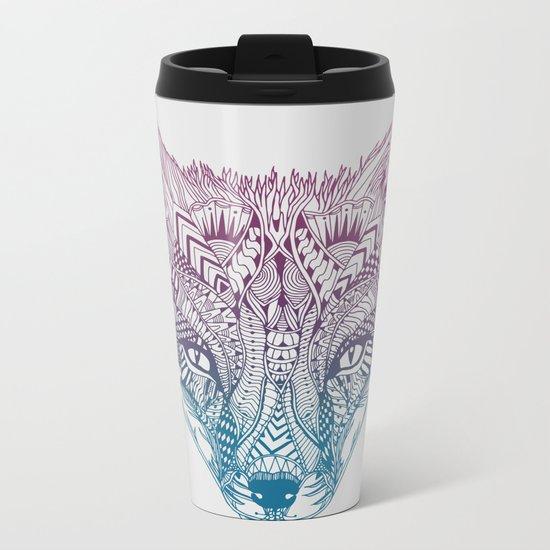 Fox (Clever) Metal Travel Mug