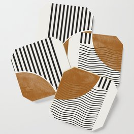 Abstract Modern Poster Coaster