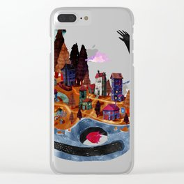 the island Clear iPhone Case