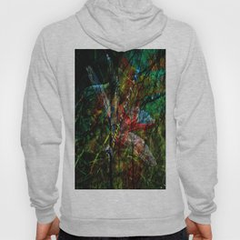 dragonfly abstract  Hoody