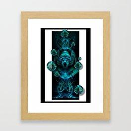 Aquaeous Juggler Framed Art Print