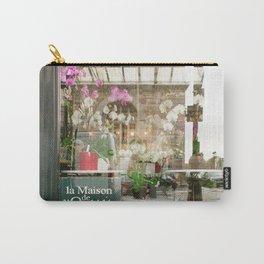 Paris Flower Shop Window Carry-All Pouch